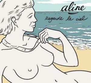 Pochette de l'album Regarde le ciel d'Aline