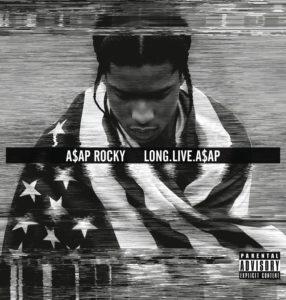 Pochette de l'album Long Live Asap d'Asap Rocky