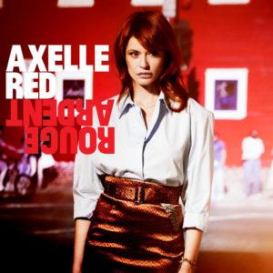 Pochette de l'album Rouge Ardent d'Axelle Red