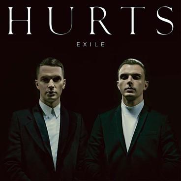 Pochette d'Exile de Hurts