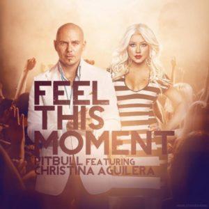 Pochette du single Feel This Moment de Pitbull