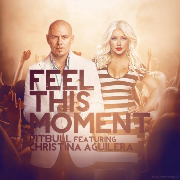 Pochette du single Feel This Moment de Pitbull