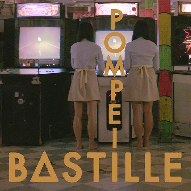 Pochette de Pompeii du groupe Bastille