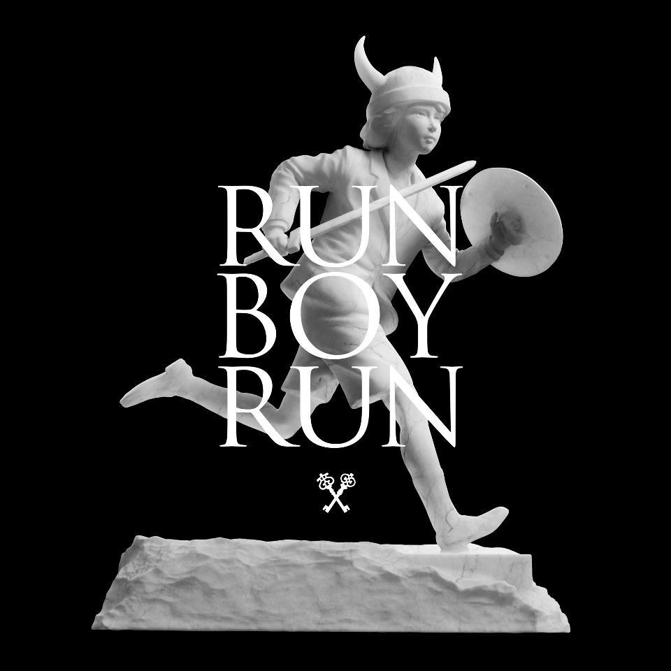 Pochette de Run boy run par Woodkid