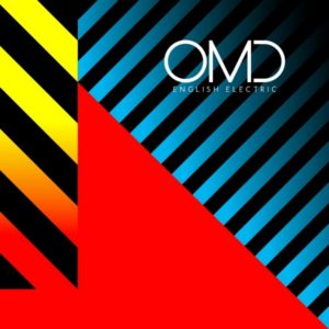 Pochette d'English Electric, nouvel album d'OMD