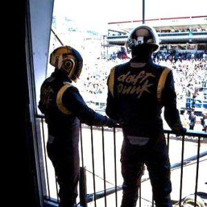 Photo des Daft Punk au Grand Prix de Monaco