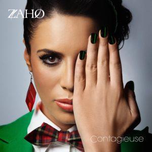 Pochette de l'album Contagieuse de Zaho