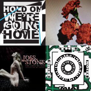 Derniers singles de Joss Stone, Drake, M.I.A et John Legend