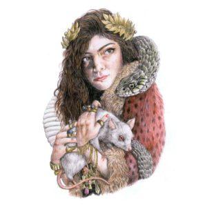 Pochette du single Royals par Lorde