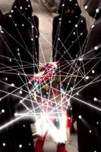 Extrait du clip interactif des Arcade Fire pour Reflektor