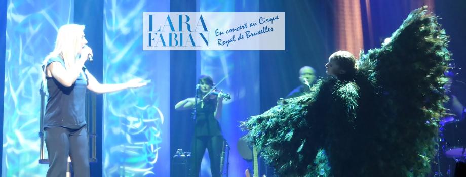 Lara Fabian en concert au Cirque Royal de Bruxelles pour défendre Le Secret