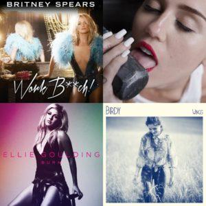 Nouveaux singles de Miley Cyrus, Britney Spears, Ellie Goulding et Birdy