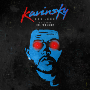 Pochette du remix de Odd Look de Kavinsky avec The Weeknd