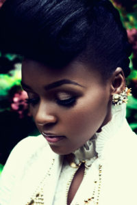 Photo de Janelle Monae pour la cover story de Pitchfork