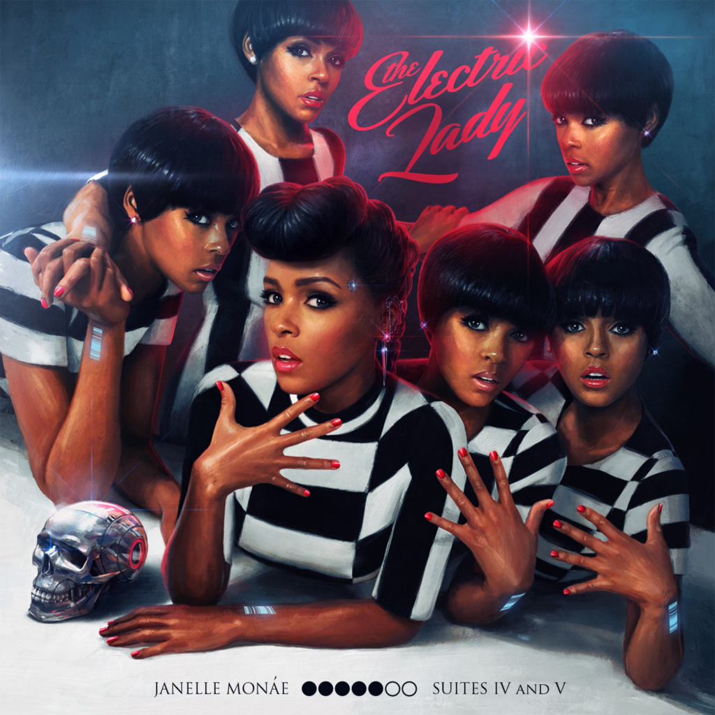 Pochette de l'album The Electric Lady de Janelle Monae