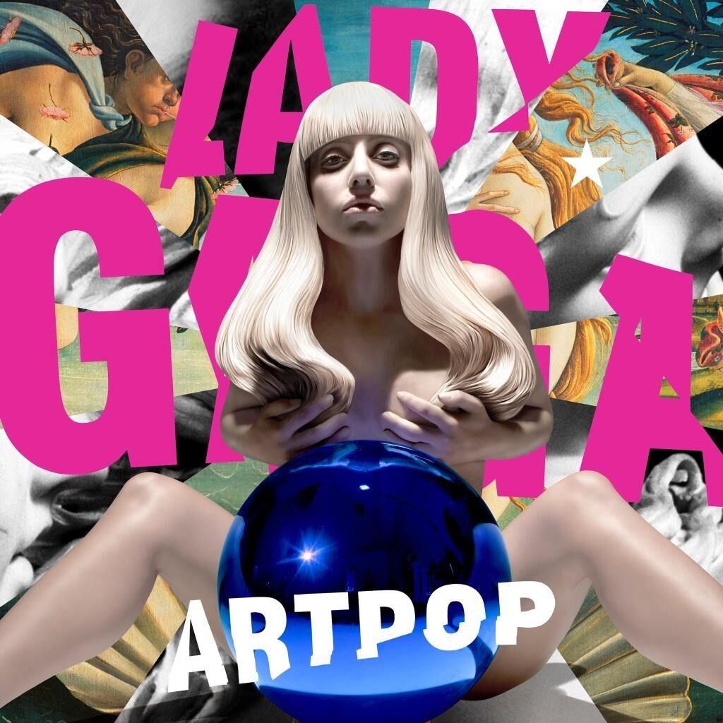 Pochette de l'album ARTPOP de Lady Gaga