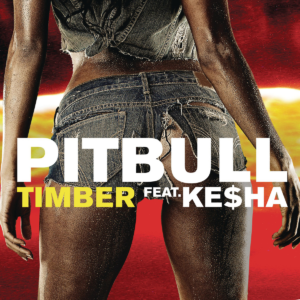 Pochette du single de Pitbull et Ke$ha Timber