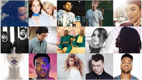 Les nommés au BBC Sound Of 2014