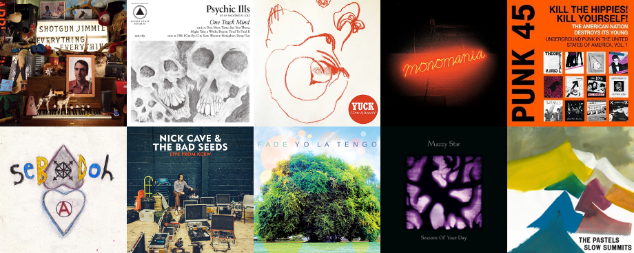 Classement de fin d'année 2013 des meilleurs albums top 10 de Mojo Man