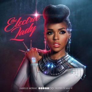 Pochette de l'album The Electric Lady par Janelle Monae