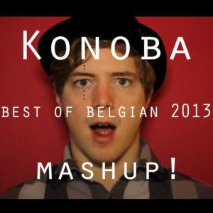 Image promo du mashup des meilleures chansons belges de 2013 par Konoba