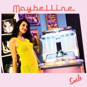 Pochette de l'EP Smile du groupe belge Maybelline