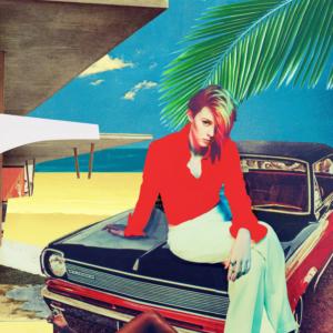Pochette de l'album Trouble In paradise de La Roux