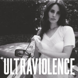 Pochette de l'album ULTRAVIOLENCE de Lana Del Rey