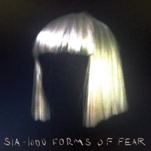 Pochette de l'album 1000 forms of Fear de Sia