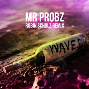 Pochette du remix de Robin Schulz pour Waves de Mr Probz