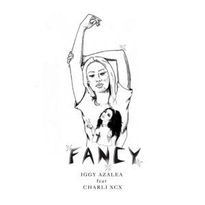 Pochette du single Fancy d'Iggy Azalea avec Charli XCX