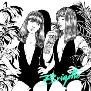 Pochette du single A bouche que veux-tu de Brigitte