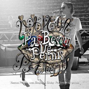 Pochette du single Pas Besoin De Permis de Vanessa Paradis avec Benjamin Biolay