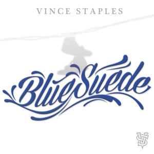 Pochette du single Blue Suede de Vince Staples