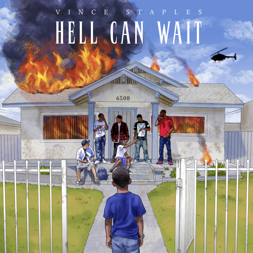 Pochette de l'EP Hell Can Wait de Vince Staples
