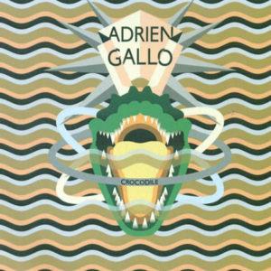 Pochette du single Crocodile d'Adrien Gallo