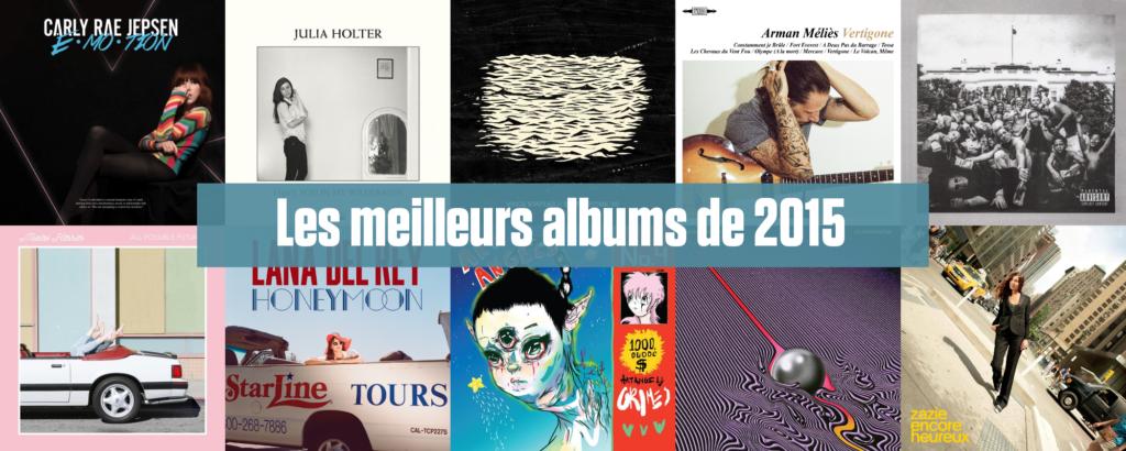 Les meilleurs albums de 2015 selon Le Son de Gaston