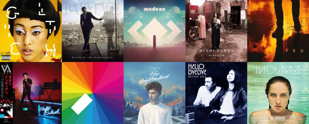 Les meilleurs albums de 2015, de la place 21 à 30