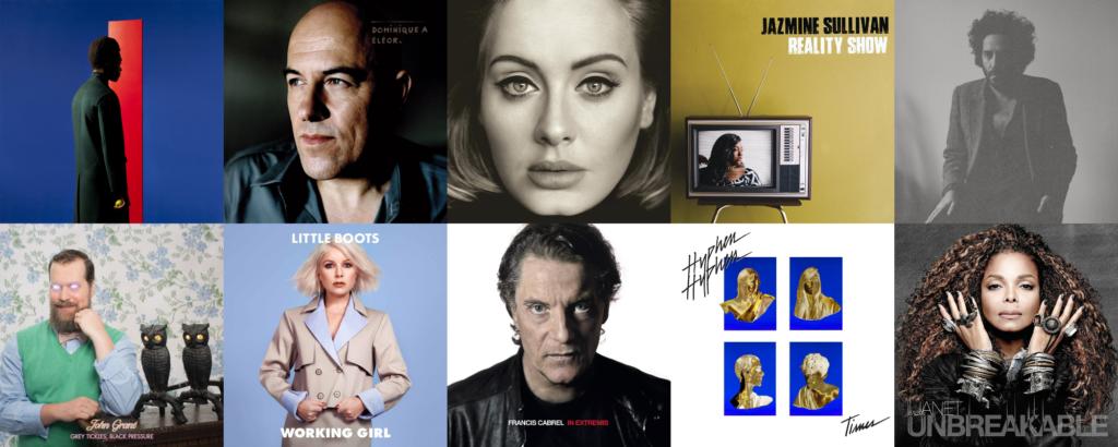 Les meilleurs albums de 2015, de la place 41 à 50