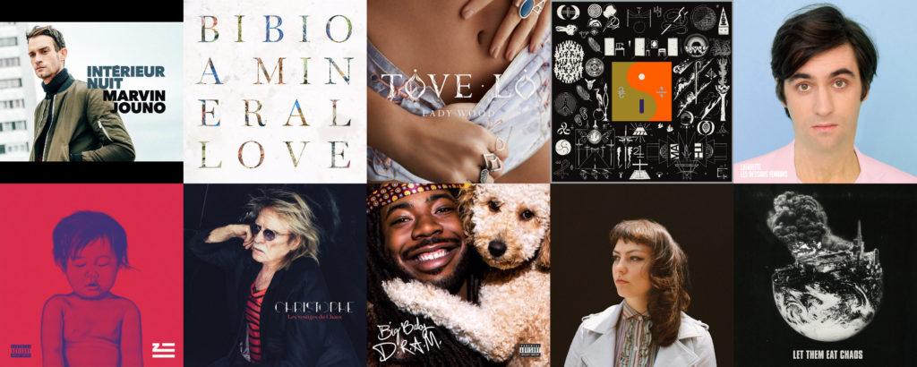 Les 20 meilleurs albums de l'année 2016 selon Le Son de Gaston