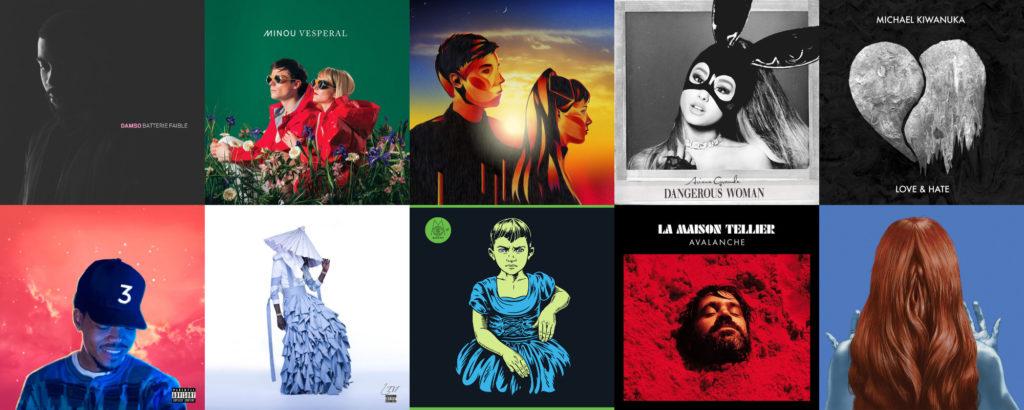 Les 30 meilleurs albums de l'année 2016 selon Le Son de Gaston