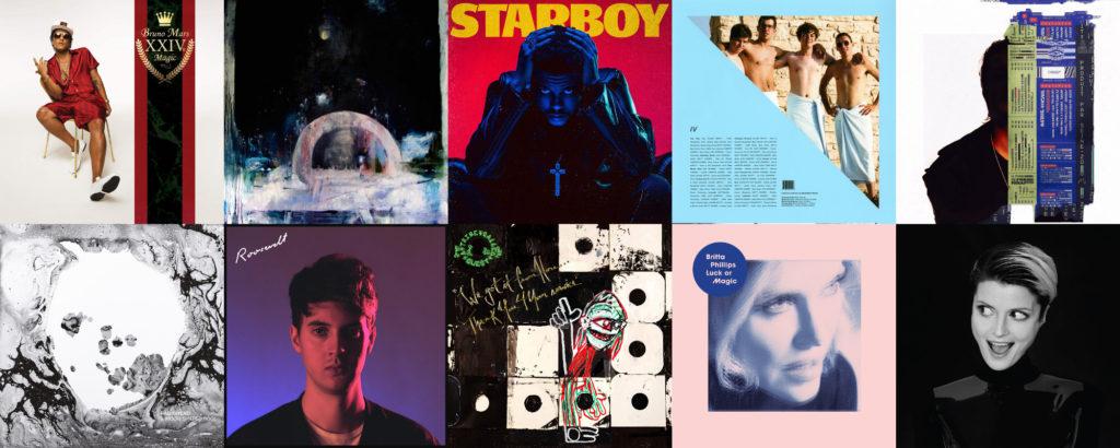 Le top 40 des meilleurs albums de l'année 2016 selon Le Son de Gaston