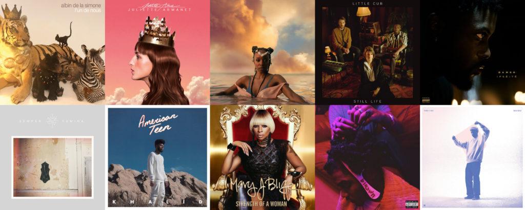 Les 40 meilleurs albums de 2017 selon Le Son de Gaston