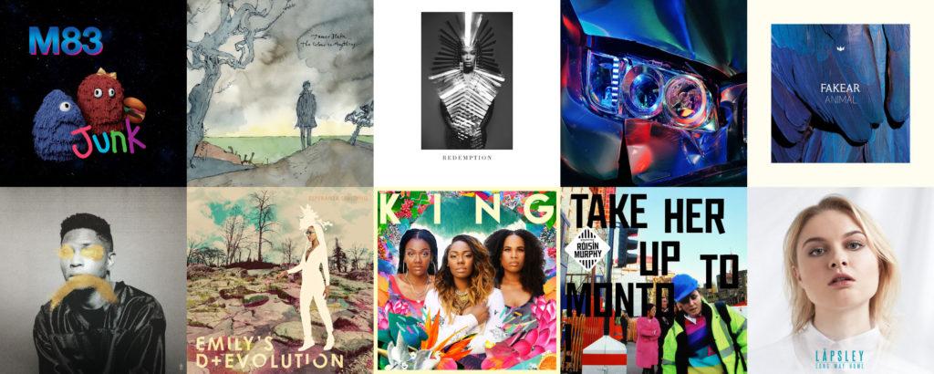 Les 50 meilleurs albums de l'année 2016 par Le Son de Gaston