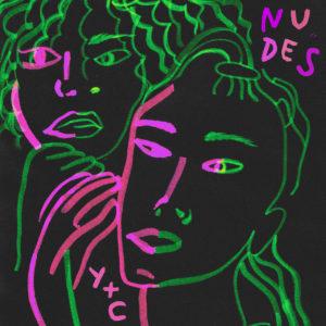 Pochette du single Nudes de Claire Laffut et Yseult