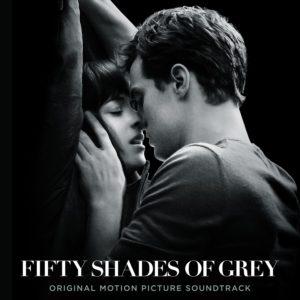 Pochette officielle de la bande originale du film 50 nuances de grey