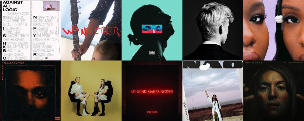 Sélection des meilleurs albums de l'année 2018 par Le Son de Gaston